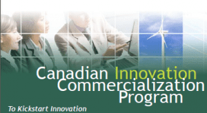 The Canadian Innovation Commercialization Program (CICP).