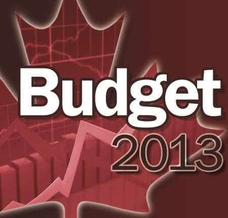 2013 Canadian Federal Budget